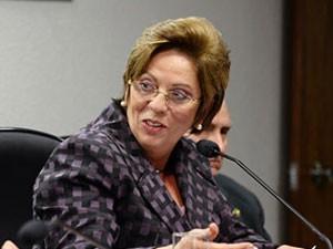 A governadora do Rio Grande do Norte, Rosalba Ciarlini, em setembro, no Senado (Foto: Lia de Paula / Agência Senado)