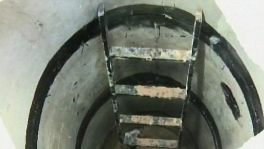 Trabalhador desmaia em poço de 5m de profundidade em Divinópolis