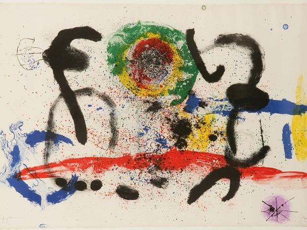 Miró buscava representar conceitos de natureza de forma poética (Foto: Divulgação)
