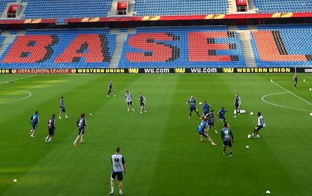 Chelsea treino Basel (Foto: Reuters)