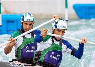 Anderson Oliveira, Charles Correa, canoagem slalom (Foto: Arquivo Pessoal)