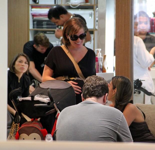 Bruna Di Tulio em shoping no RJ (Foto: Instagram / Reprodução)