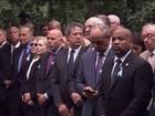 Hillary tem pneumonia e passa mal em ato que lembrou o 11 de Setembro