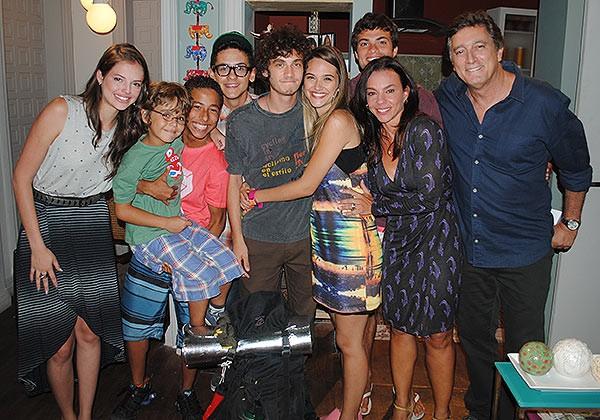 Despedida do Dinho (Foto: TV globo/Malhação)
