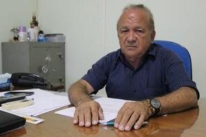 Antônio Aquino presidente da Federação de Futebol do Acre (Foto: João Paulo Maia)