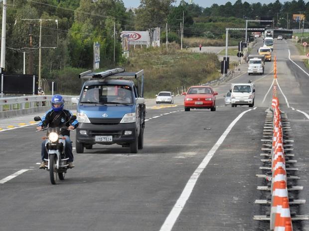 Usuários devem utilizar o viaduto para acessar o Centro de Eventos Fenadoce (Foto: Solano Ferreira (STE S.A.)/DNIT)