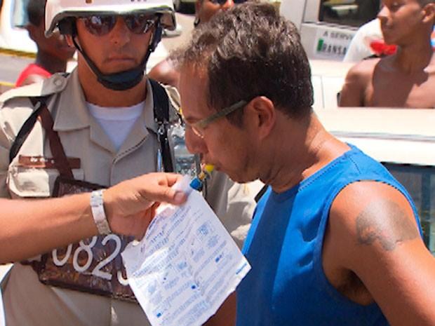 Acidente do Politeama, em Salvador (Foto: Imagem/TV Bahia)
