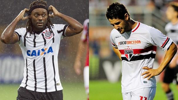 Corinthians x São Paulo fazem o jogo de abertura da Libertadores da América nesta quarta, dia 18 (Foto: globoesporte.com)