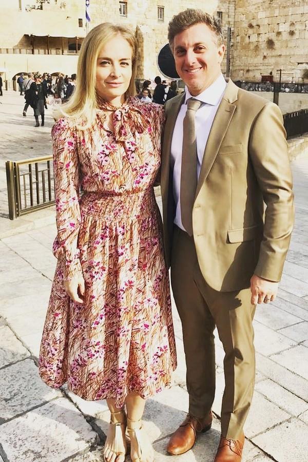 Angélica e Luciano Huck (Foto: Instagram/Reprodução)