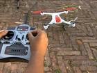 Drone que voa, tira foto e filma conquista gente de todas as idades