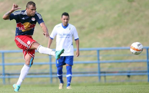 Allan Dias marca gol de empate do RB Brasil contra o Santo André (Foto: Divulgação / Red Bull Brasil)