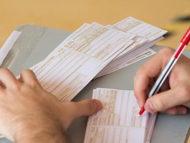 Em Ribeirão Preto (SP), 21% dos eleitores não compareceram às urnas no 1º turno (Foto: Érico Andrade/G1)
