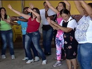 Pacientes, amigos e familiares participaram do evento (Foto: Reprodução/TV Integração)