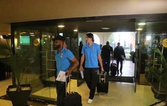 Após 12h de viagem, Grêmio chega à concentração para estreia no México