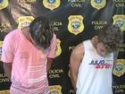 Polícia prende suspeitos de assaltar rádio táxi e posto de gasolina no AC