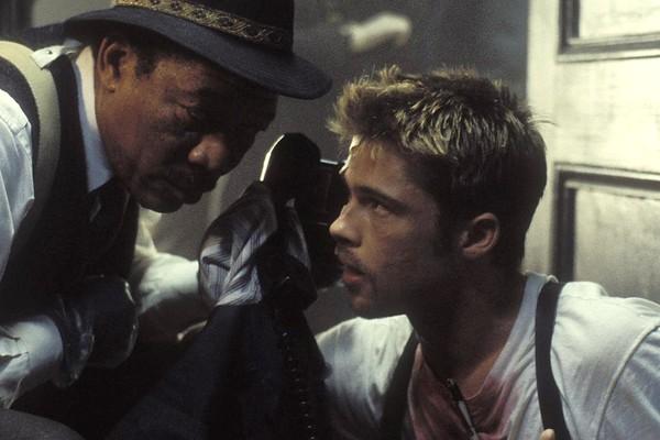 Cena de Sev7n - Os Ste Crimes Capitais (1995) (Foto: Reprodução/Getty Images)