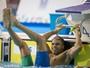 No Rio, estrelas da natação disputam o evento-teste no Estádio Aquático