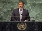 Presidente do Egito se diz contra intervenção estrangeira na Síria
