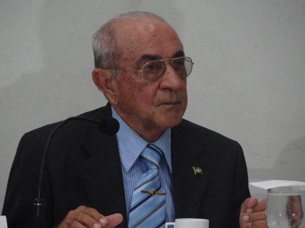 Tenente-coronel reformado Joaquim Gonçalves Vilarinho Neto, 85 anos, foi o primeiro a ser ouvido (Foto: Luna Markman/G1)