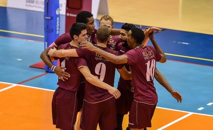 Qatar SC Vôlei (Foto: Reprodução/Facebook)