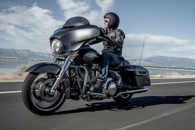 Harley-Davidson Street Glide (Foto: Harley-davidson)