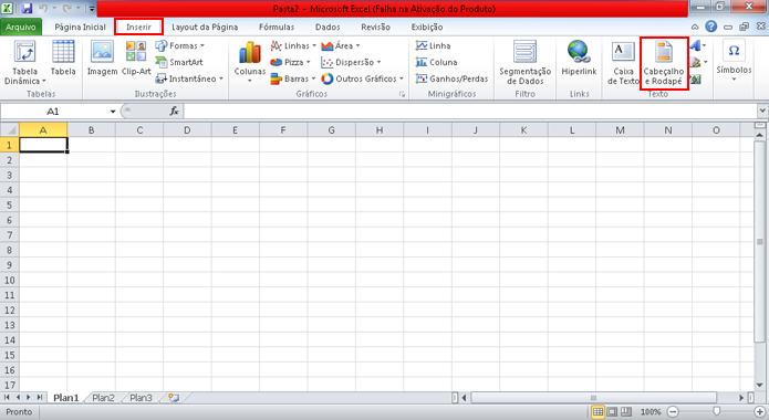 Plano de fundo do Excel pode ser usado para inserir marca dágua (Foto   Reprodução cbe02abfca