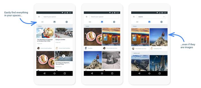 Spaces é uma ferramenta do Google focada em grupos (Foto: Divulgação/Google)