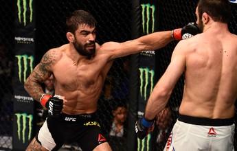 """Elizeu Capoeira pretende pressionar Nakamura: """"Minha ideia é fazê-lo errar"""""""