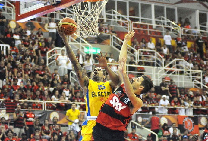 Final inter continental de basquete Flamengo x Maccabi (Foto: André Durão)