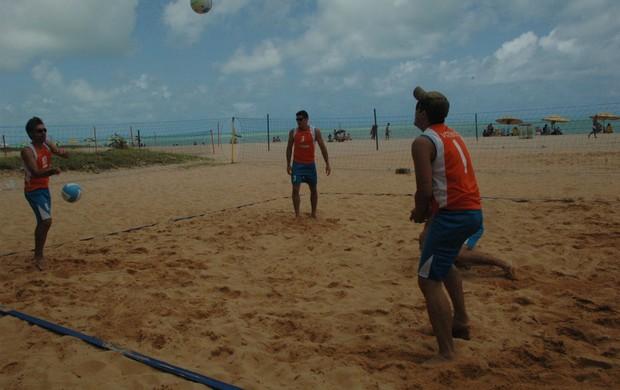 Vôlei de Praia, Paraíba, Jogos Regionais do Sesi, Vôlei de quadra, campeão, 1° lugar, medalha de ouro (Foto: Yordan Cavalcanti / Globoesporte.com/pb)