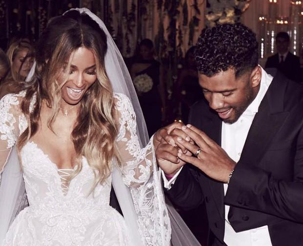 Ciara e Russell Wilson (Foto: Reprodução / Instagram)