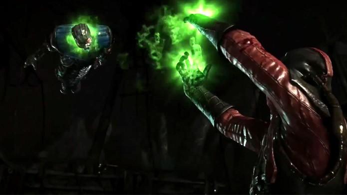 Ermac finaliza seu oponente com um Fatality mais violento do que de costume (Foto: Reprodução/YouTube)