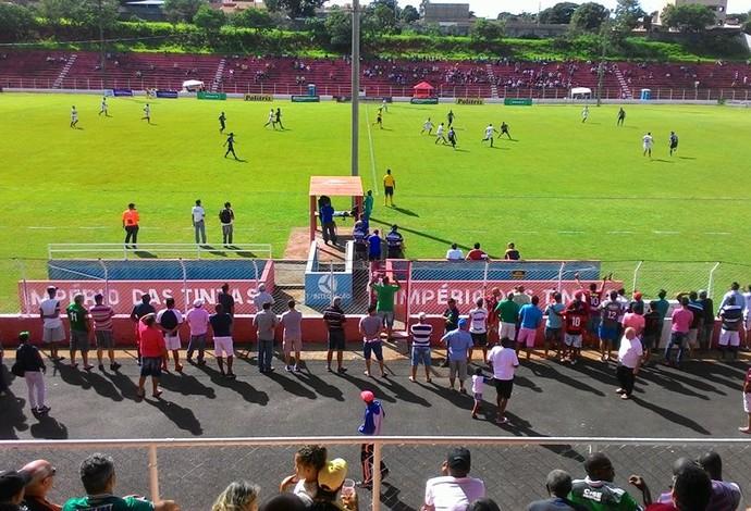 Luizote, Tabajara, Semifinal, Amador de Uberlândia (Foto: Lucas Papel)