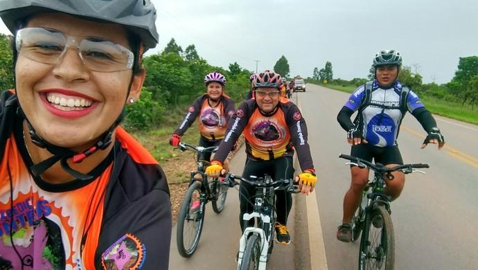 Ciclistas de Santarém e Amapá vão participar da jornada (Foto: Alfredo Barreto/Arquivo pessoal)
