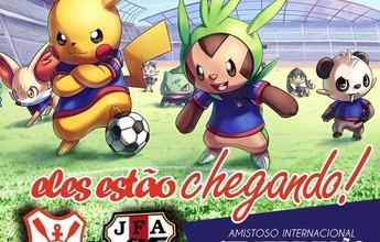 'Preparem as Pokebolas': Sergipe usa clássico japonês pra divulgar amistoso