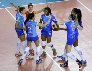 Minas x Sesi; Superliga Feminina de Vôlei (Foto: Orlando Bento/MTC)