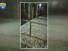 Chuva, vento e queda de granizo no RS causam falta de luz e estragos