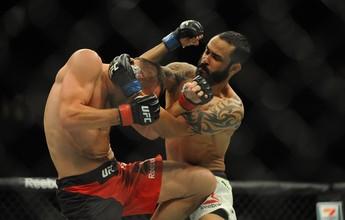 """Felipe Silva comemora estreia no UFC: """"Cheguei com os dois pés na porta"""""""