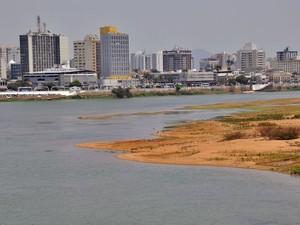 Nível do rio Paraíba do Sul está em 4,60 metros, em Campos, RJ (Foto: Divulgação/Prefeitura de Campos)