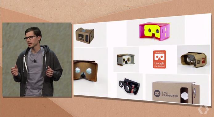 Google Cardboard (Foto: Reprodução/Google)