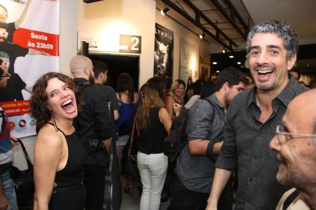 Bruna Linzmeyer e Michael Melamed (Foto: Daniel Pinheiro/AgNews)