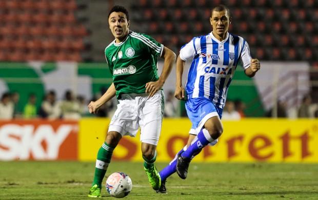 Caio e Eduardo Costa, Palmeiras x Avaí (Foto: Miguel Schincariol/Agência Estado)