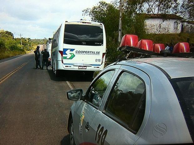 Polícia investiga o que motivou e quem executou o crime (Foto: Reprodução/TV Sergipe)