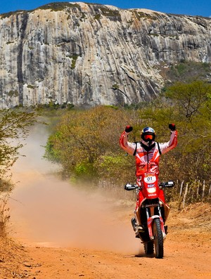 Felipe Zanol Rally dos Sertões 10º dia (Foto: David Santos Jr / Fotoarena)
