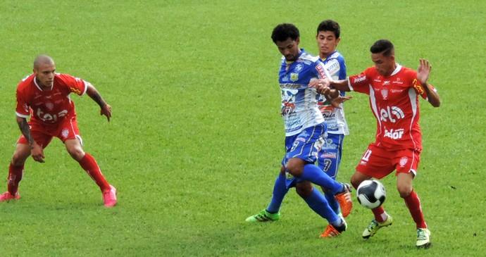 Noroeste x Fernandópolis, Série A3, Everton (Foto: Sérgio Pais)