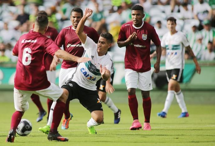 Coritiba JMalucelli  (Foto: Giuliano Gomes/Agência PR Press)