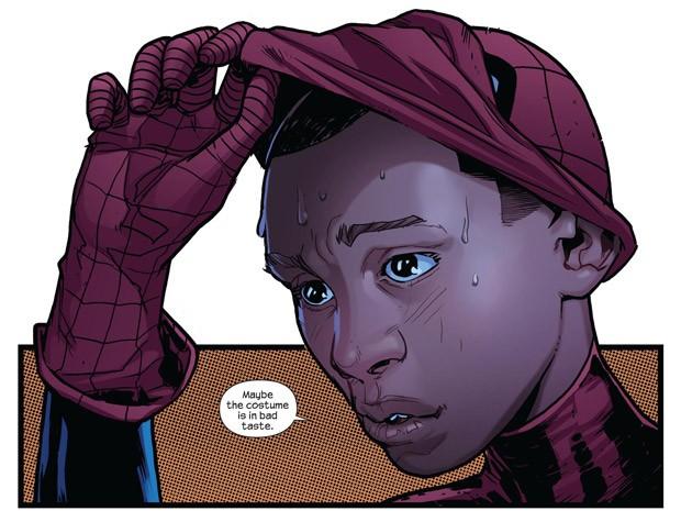 Homem-Aranha negro, na nova série 'Ultimate'