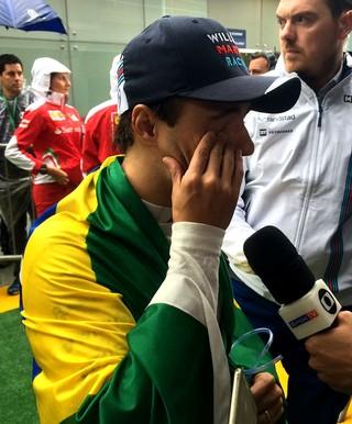 Felipe Massa entrevista (Foto: Tossiro Neto)