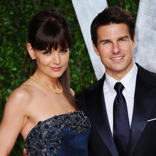 Eles já se divorciaram, mas se dependesse da qualidade da lua de mel, Tom Cruise e Katie Holmes estariam juntos até hoje. Após voar com a pequena Suri em seu avião particular, o casal embarcou em um iate que os levou a uma ilha secreta nas Maldivas (Foto: Getty Images)