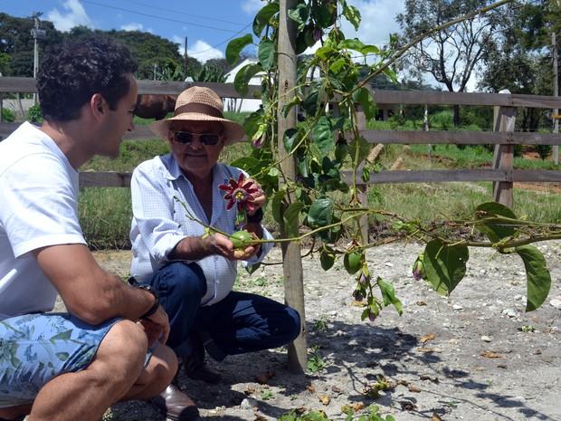 De pai para filho: produção orgânica de café se reflete na microcervejaria, Paraisópolis (Foto: Daniela Ayres/ G1)